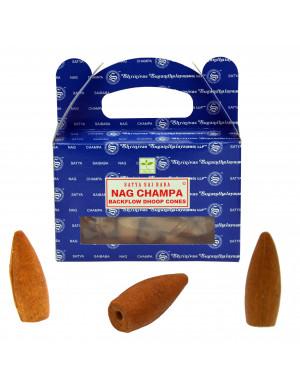 Nag Champa [24 Cônes d'Encens Creux Satya]