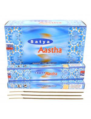 "Encens Naturel "" Aastha "" / 12x15 gr. [Satya]"