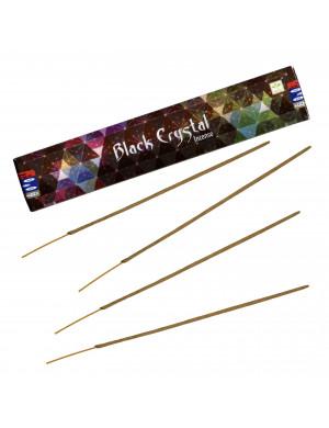 """Encens Naturel """" Black Crystal """" ("""" Cristal Noir """") [15 Gr. Satya BNG]"""