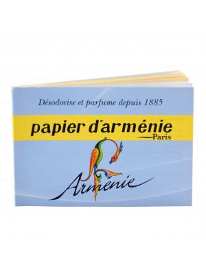 Papier d'Arménie en Carnet de 12 Feuilles (36 Lamelles)
