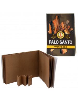 Papier d'Encens au Palo Santo en Carnet de 12 Feuilles (36 Lamelles)