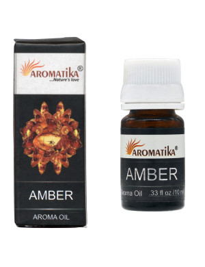 Huile Parfumée à l'Ambre / 10 ml. [Aromatika]