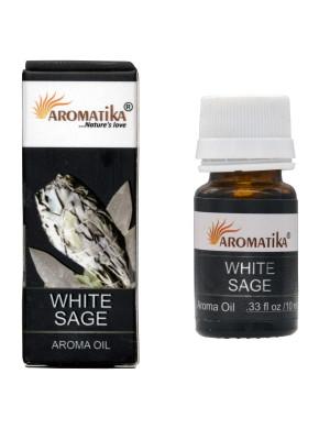 Huile Parfumée à la Sauge Blanche / 10 ml. [Aromatika]