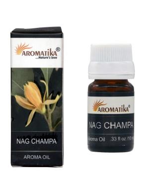 Huile Parfumée au Nag Champa / 10 ml. [Aromatika]