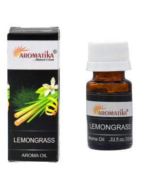 """Huile Parfumée """" Lemongrass """" (à la Citronnelle) / 10 ml. [Aromatika]"""