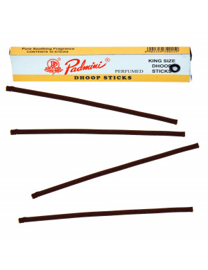 """Dhoop Sticks """" King Size """" d'Encens Naturel / 10 Dhoop Sticks [Padmini]"""