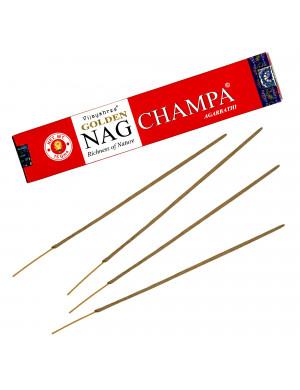"Encens Naturel "" Golden Nag Champa "" / 15 gr. [Vijayshree]"