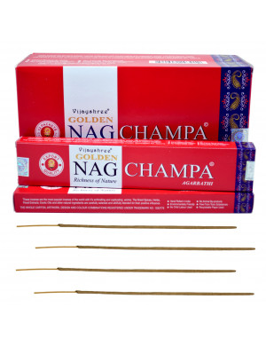 "Encens Naturel "" Golden Nag Champa "" / 12x15 gr. [Vijayshree]"
