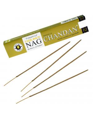 """Encens Naturel """" Golden Nag Chandan """" / 15 gr. [Vijayshree]"""