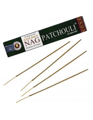 """Encens Naturel """" Golden Nag Patchouli """" / 15 gr. [Vijayshree]"""