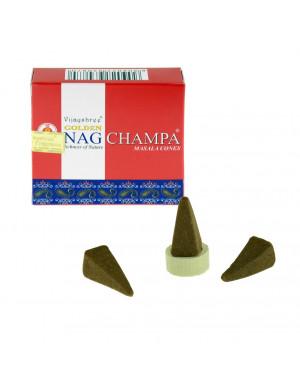 "Encens Naturel "" Golden Nag Champa "" / 10 Cônes [Vijayshree]"