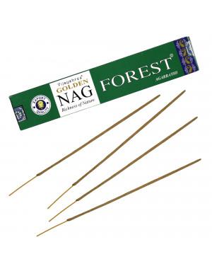 """Encens Naturel """" Golden Nag Forest """" / 15 gr. [Vijayshree]"""