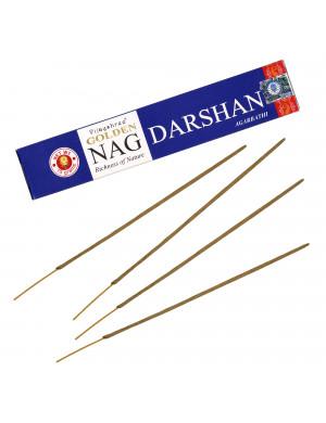 """Encens Naturel """" Golden Nag Darshan """" / 15 gr. [Vijayshree]"""
