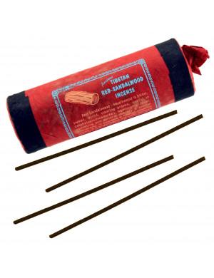 "Encens Tibétain Naturel "" Red Sandal Wood "" (au Bois de Santal Rouge / 30 Bât. [Mandala Art & Incense]"