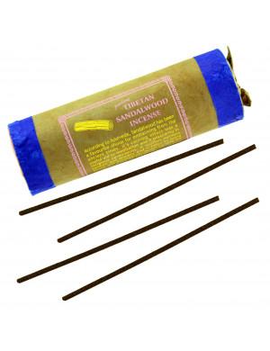 """Encens Tibétain Naturel """" Sandal Wood """" (au Bois de Santal) / 30 Bât. [Mandala Art & Incense]"""