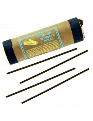 """Encens Tibétain Naturel """" Cedar Wood """" (au Bois de Cèdre) / 30 Bât. [Mandala Art & Incense]"""