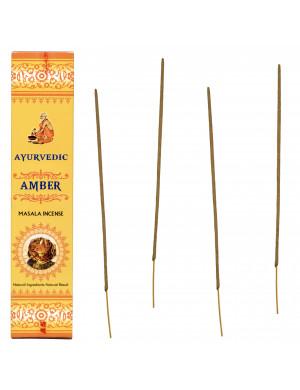 """Encens Naturel Ayurvédique à l'Ambre ("""" Amber """")"""