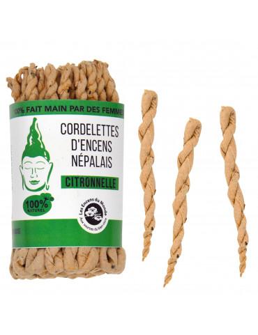 Cordelettes Népalaises à la Citronnelle