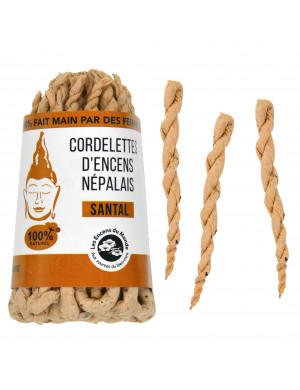 Cordelettes Népalaises au Bois de Santal