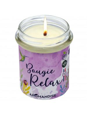 "Bougie "" Relax "" 100% Naturelle / 150 Gr. [Aromandise]"