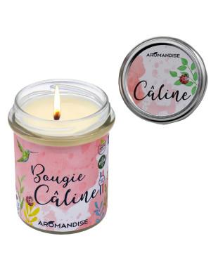 "Bougie "" Câline "" 100% Naturelle / 150 Gr. [Aromandise]"