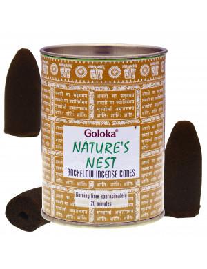 Nid de la Nature (Nature's Nest) [Cônes d'Encens Creux]