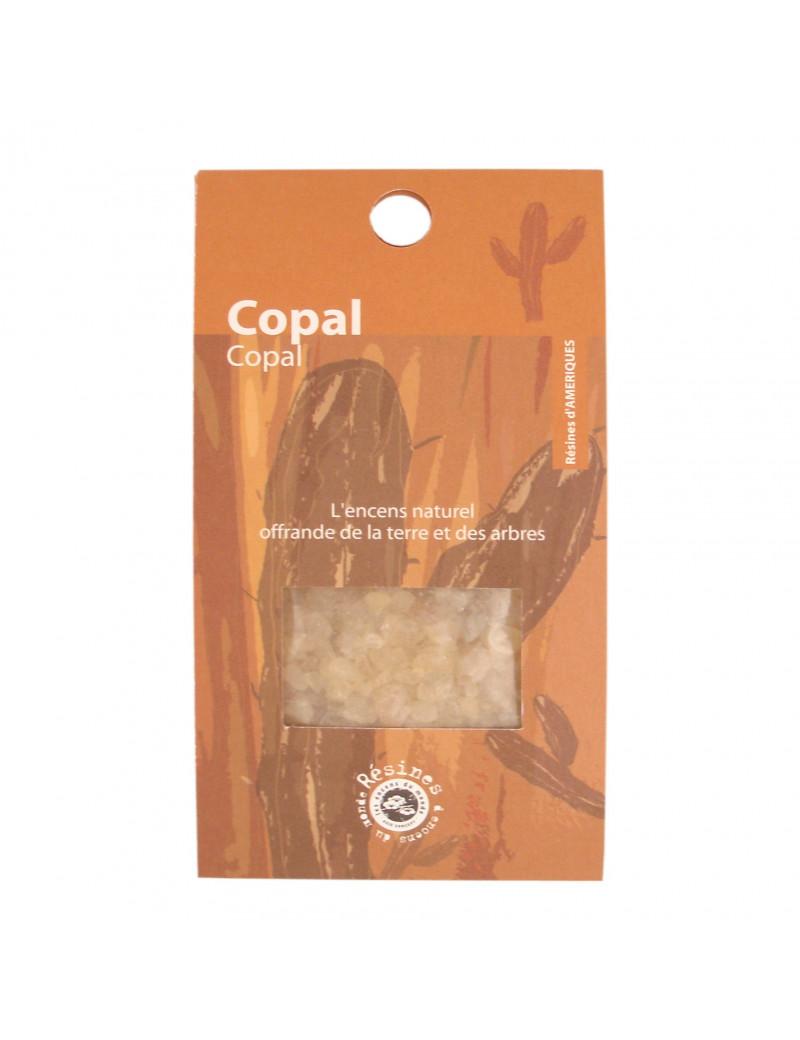 Résine Naturelle de Copal du Mexique