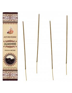"Encens Naturel Ayurvédique au Bois d'Agar ("" Agar Wood "")"