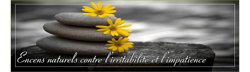 Encens naturel contre l'irritabilité et l'impatience.