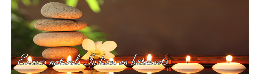 Encens naturel Indien en bâtonnet