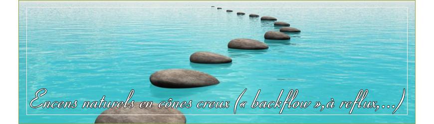 "Encens naturel en cône creu ("" Backflow "", à reflux,...)"