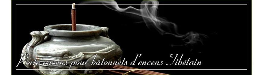 Porte-encens pour bâtonnet d'encens Tibétain.